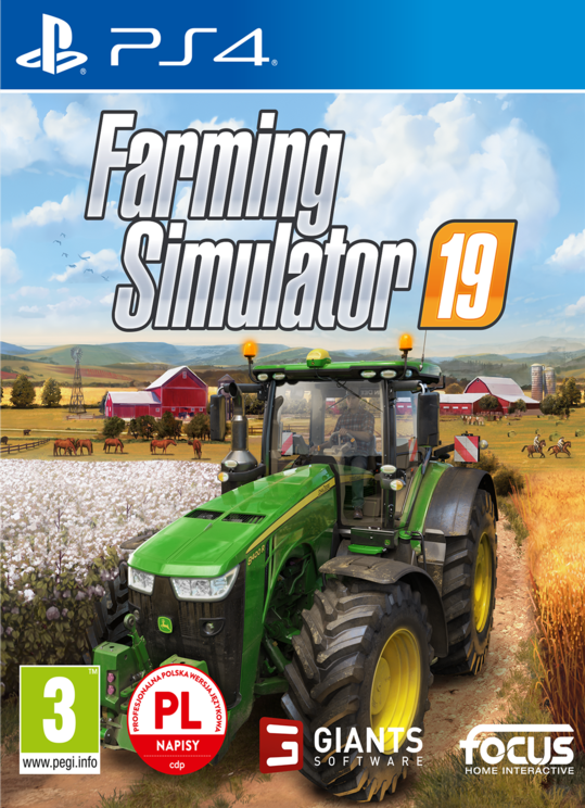 Farming Simulator 2019 / Farming Simulator 19 PL (PS4)